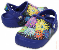 Crocs. Сабо FunLab Lights Fireworks Clogs (C12, C13)